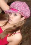Topanga in her cute little hat posing for you from Teen Topanga